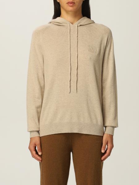 Max Mara: Felpa in maglia Max Mara in lana e cashmere