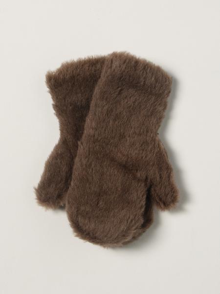 Guanti Max Mara in misto alpaca