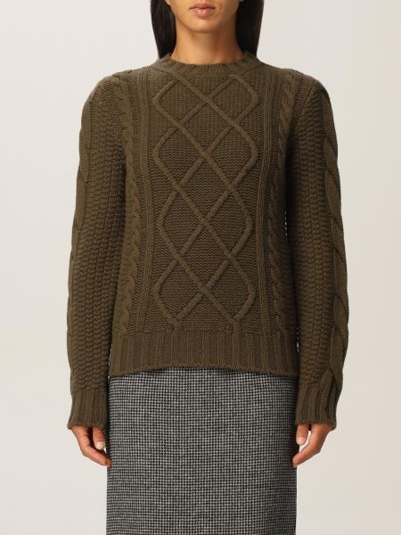 Maglia Max Mara a trecce in cashmere e lana