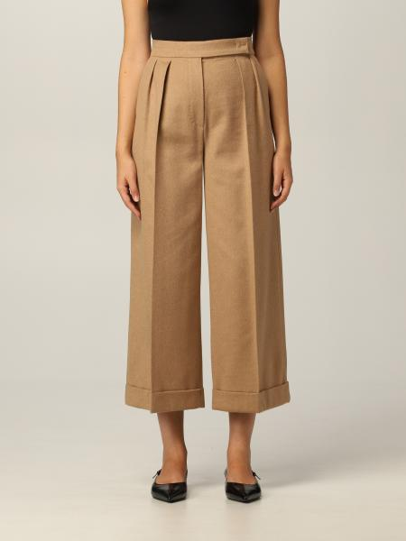 Pantalone Max Mara in cammello