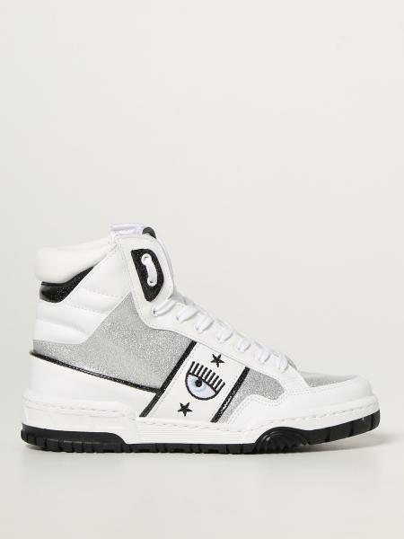 Sneakers CF-1 Chiara Ferragni in pelle e glitter