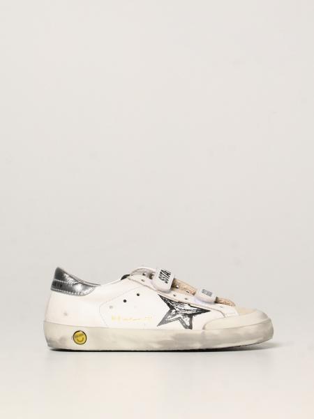 Old School Penstar Golden Goose sneakers in leather