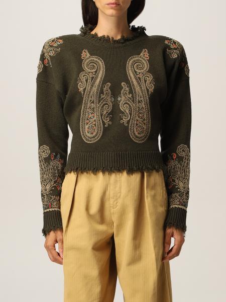 Maglia Etro in lana vergine con ricami
