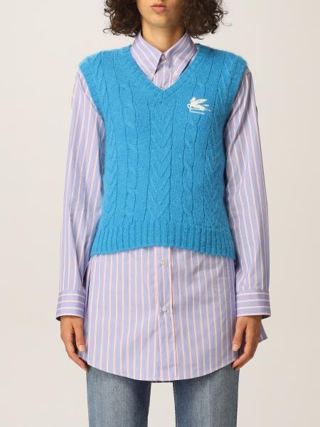 Etro: Etro vest with Pegasus logo