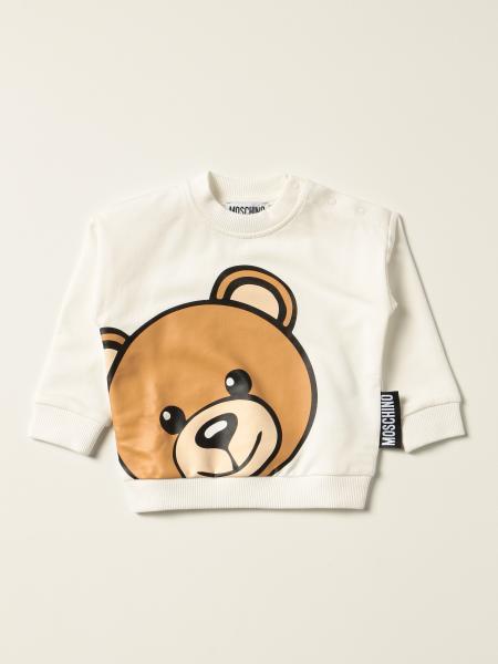 Moschino: Moschino Baby 泰迪熊图案棉质卫衣