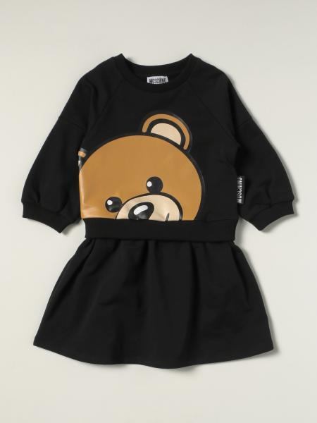 Moschino: 连衣裙 儿童 Moschino Kid