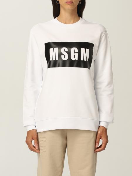 Felpa Msgm con logo