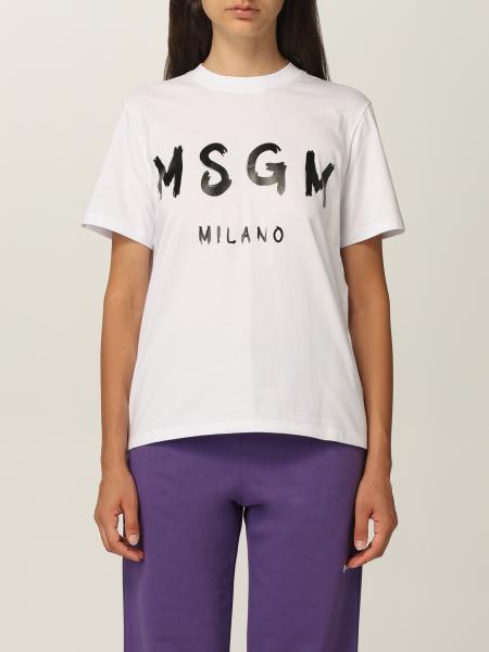 T-shirt Msgm con logo