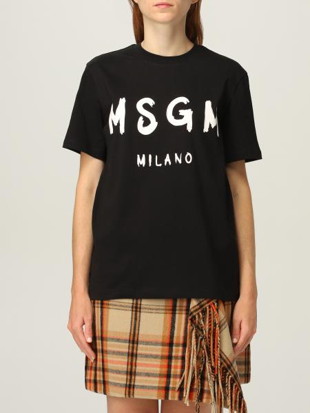 Msgm t-shirt with logo