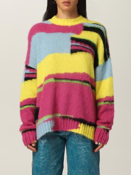 Pullover Msgm in lana merino multicolor