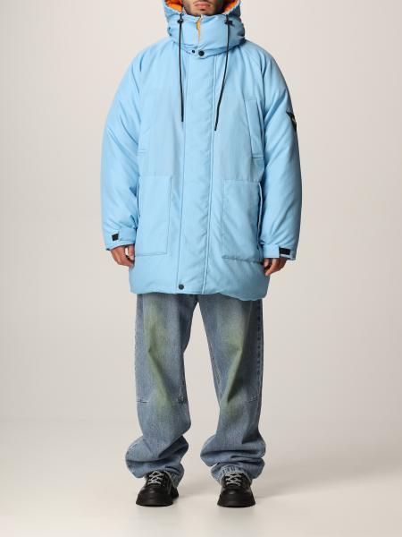 Reversible oversized down jacket Msgm