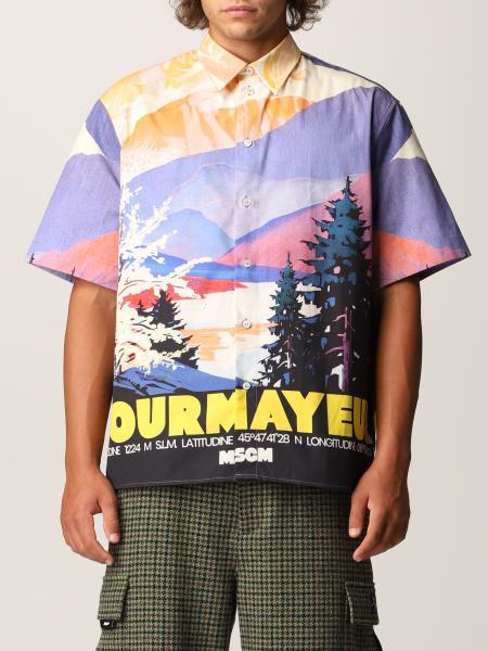 Msgm hombre: Camisa hombre Msgm