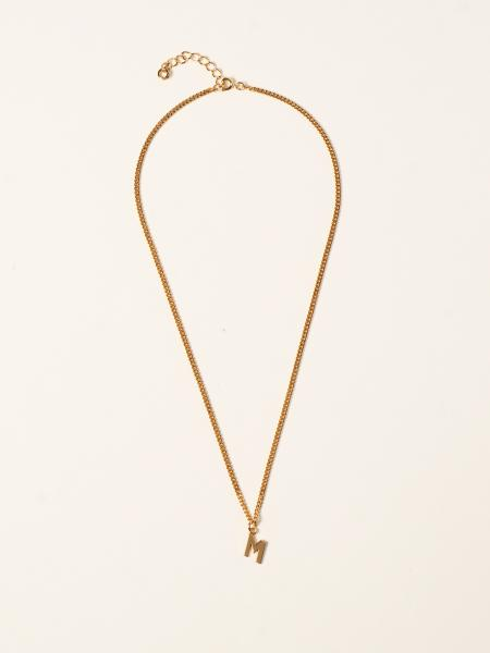 Msgm men: Msgm necklace with matching pendant