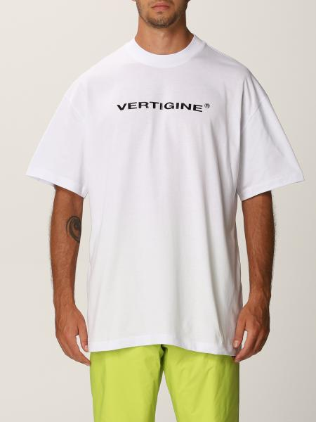 Msgm uomo: T-shirt Vertigine Msgm con stampa