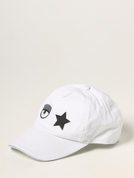Chiara Ferragni baseball cap in cotton with Eyes Flirting logo
