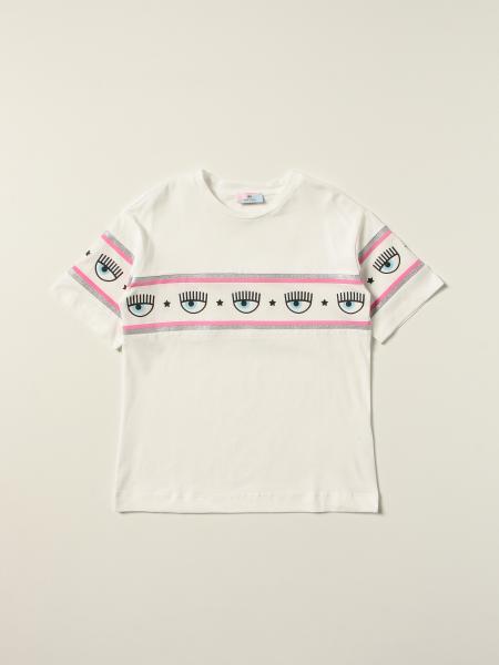 Chiara Ferragni Collection: T-shirt Logomania Chiara Ferragni in cotone