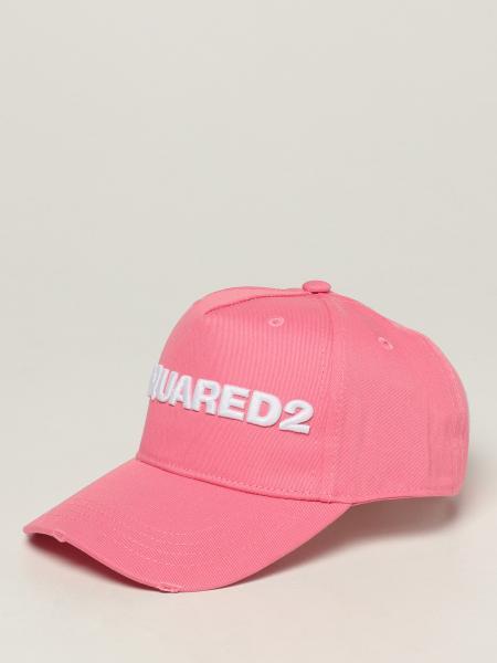 Cappello Dsquared2 con logo ricamato