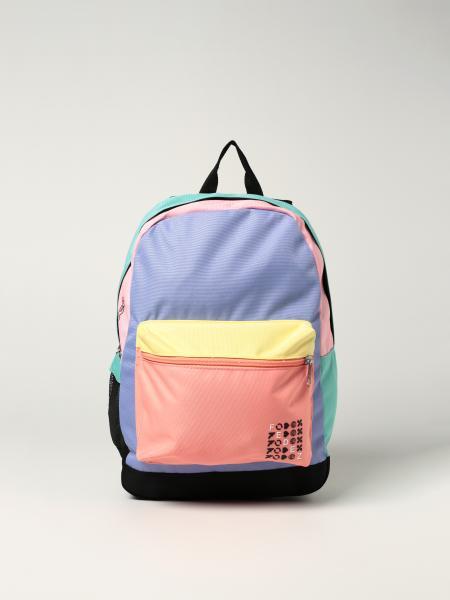 Zaino Fedez x Seven in tela riciclata multicolor