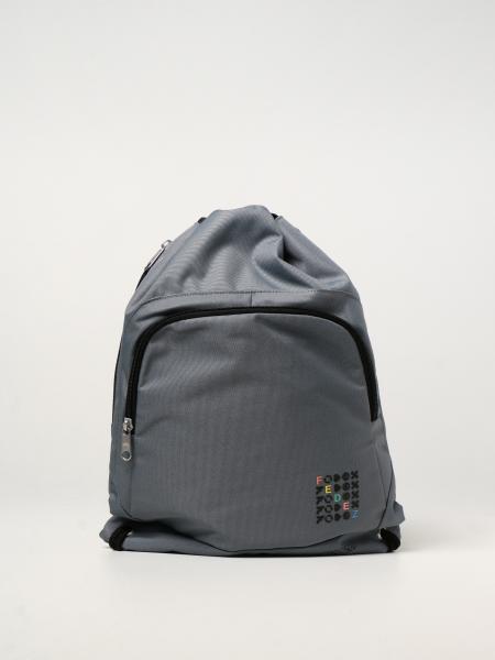 Zaino a sacco Seven X Fedez in tela riciclata multicolor