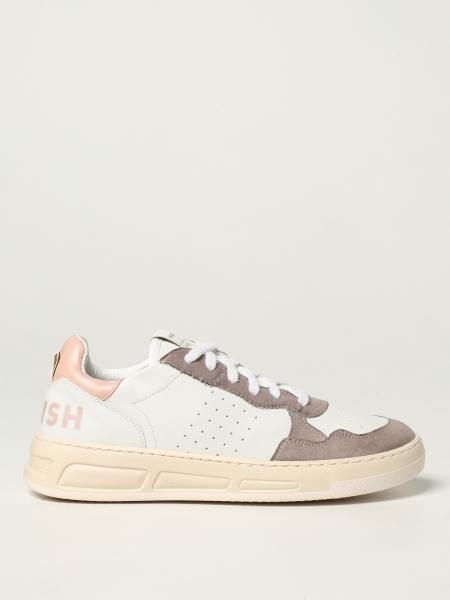 Womsh: Vegan Hyper Sand Rose trainers in Appleskin and microsuede