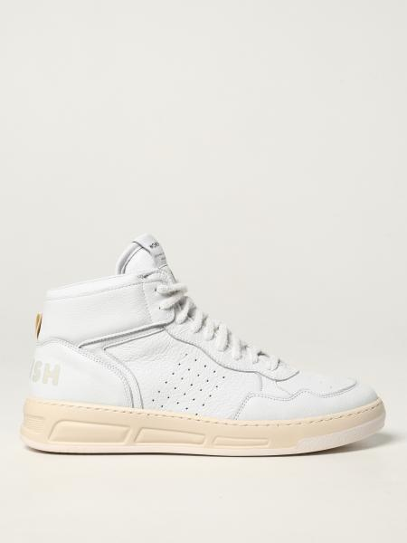 Womsh: Super White Womsh trainers in calfskin