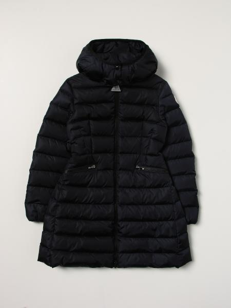 Long Charpal jacket with removable hood