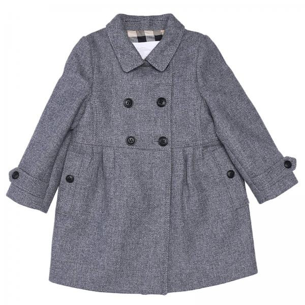 Coat Little Girl Burberry