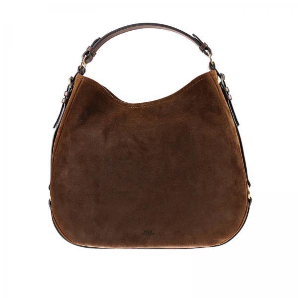 Polo Ralph Lauren Women s Dark Shoulder Bag  80b5e62f9e34d
