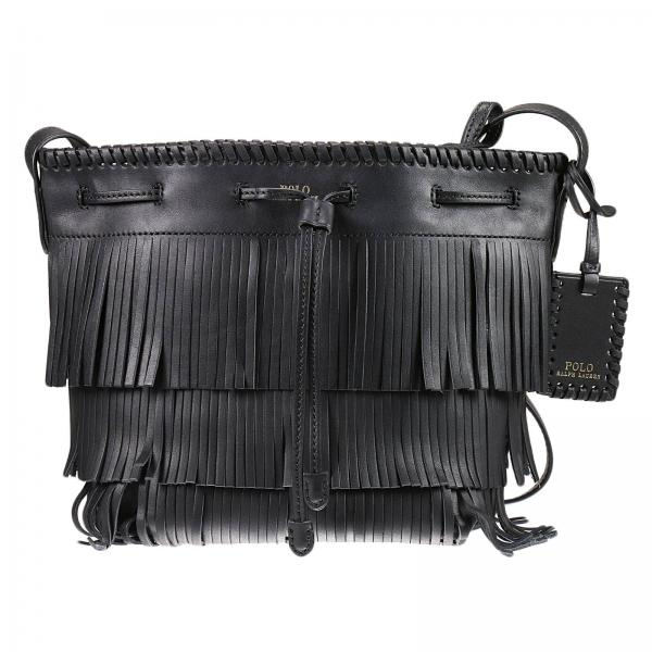 d21e7f4cf3 Polo Ralph Lauren Women s Black Shoulder Bag