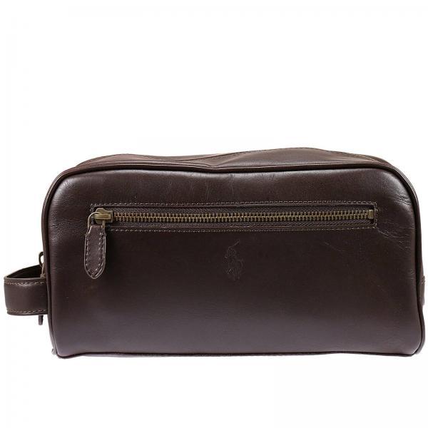 f4cb99ab3f76 Polo Ralph Lauren Men s Brown Cosmetic Case