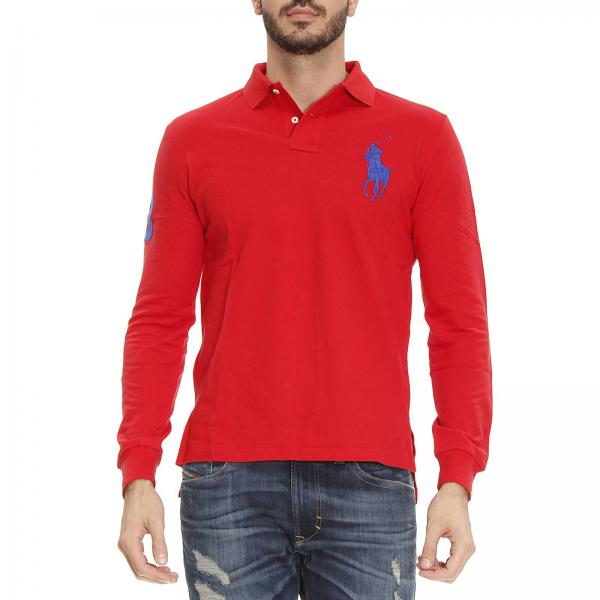 4b51d2a4507ff new zealand hombres ralph lauren sweater rojo marrón 7e65d 31590