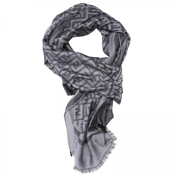 a91b9eab91873 ... uk fendi mens grey scarf scarf men fendi fendi scarf fxs143 giglio en  2258b 66eb3