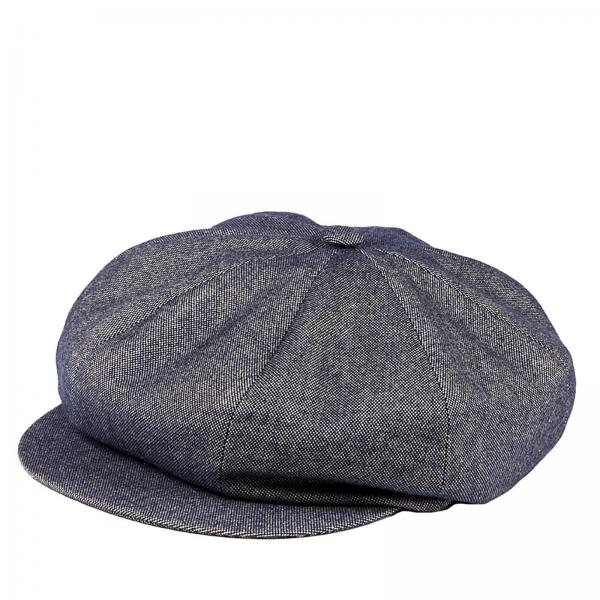 acquista per il più recente acquista per genuino ampia selezione Cappello Coppola Modello Meusa In Jeans Di Lana Blu