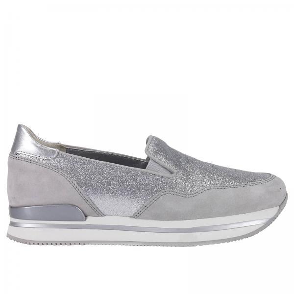 HOGAN: Scarpe donna | Sneakers Hogan Donna Ghiaccio | Sneakers ...