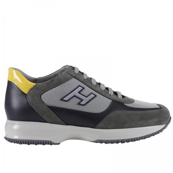 hogan sneakers uomo grigie