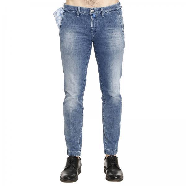 jeans f r herren jacob cohen blau jeans jacob cohen pw626 comf. Black Bedroom Furniture Sets. Home Design Ideas