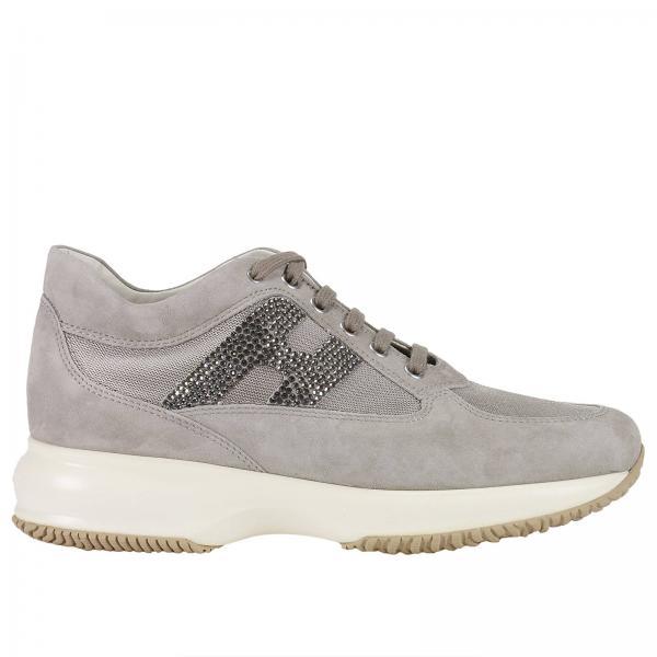 sneakers f r damen hogan dove grey sneakers hogan hxw00n02011 f17 giglio de. Black Bedroom Furniture Sets. Home Design Ideas
