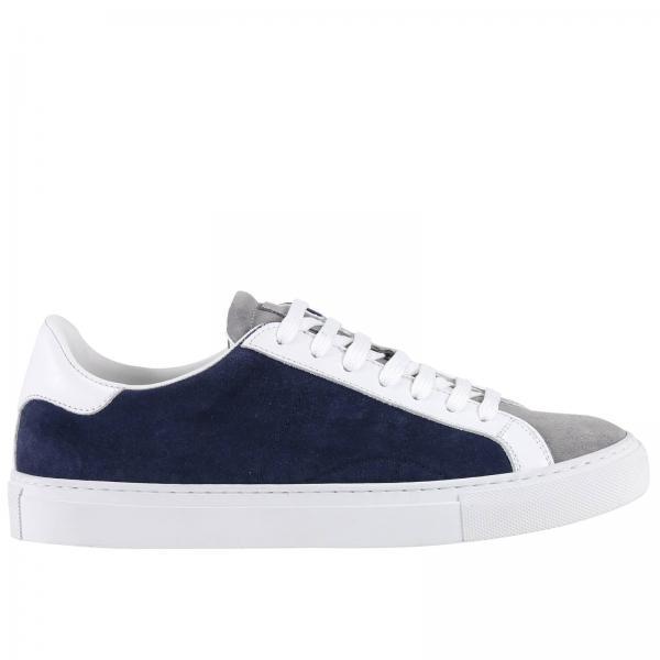 Uomo Scarpa Sneakers Eleventy Bicolor Blue 1ddawZOq