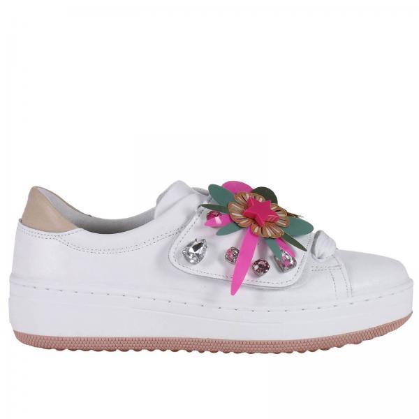 Calzature & Accessori rosa con chiusura velcro per donna Dor Shoes Manchester u1I0f4ITXs