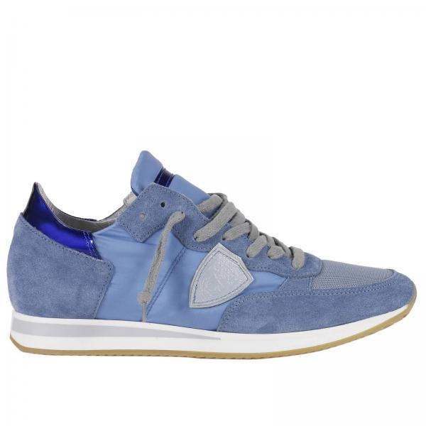 Model Baskets Bleu Chaussures Barbeau Femme Philippe TxSSwqzB