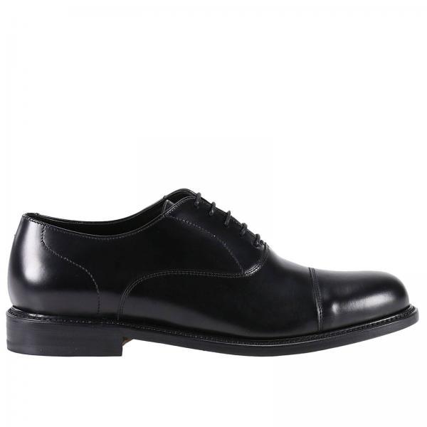 Zapatos De Cordones Hombre Berwick Negro  5702bfabf2e
