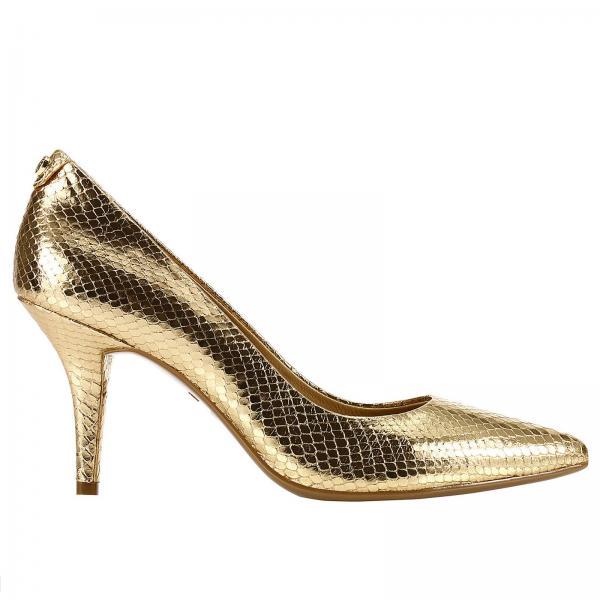 c491b3e7c74f Michael Michael Kors Women s Gold High Heel Shoes