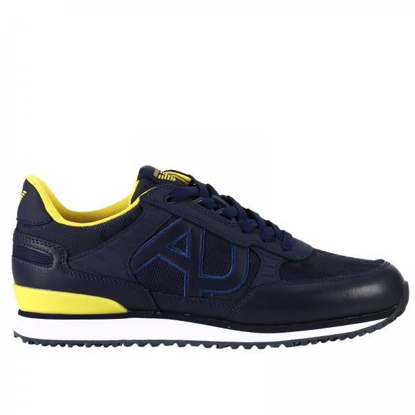Baskets Homme Armani Jeans Bleu   Baskets Homme Armani Jeans ... 88c46d050b8
