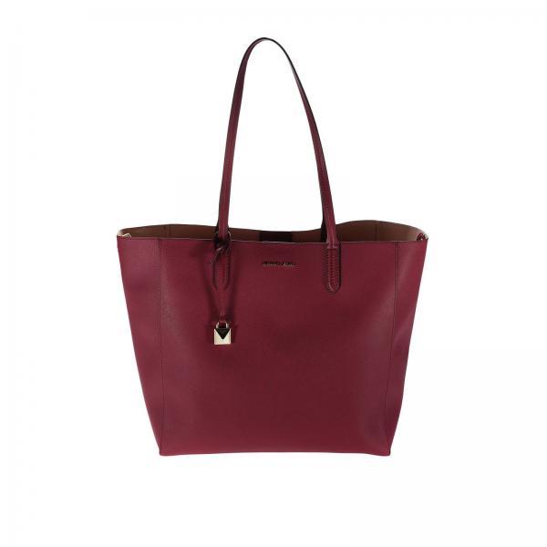 8ae25fe213 Michael Michael Kors Women's Burgundy Shoulder Bag | Shoulder Bag ...
