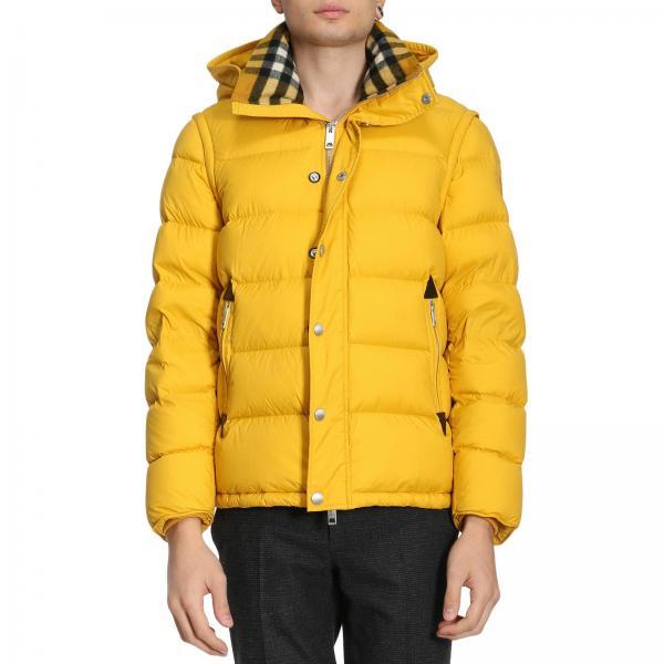 best service 972ca 64e96 Piumino hartley con cappuccio foderato in lana con motivo check