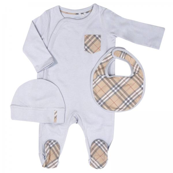 31926d910bcf6 Pack baby Burberry Layette Sky Blue