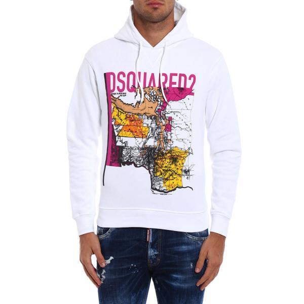Blanc Blanc Dsquared2 Dsquared2 Homme Sweatshirt Blanc Dsquared2 Sweatshirt Homme Dsquared2 Sweatshirt Sweatshirt Blanc Homme Homme Sweatshirt faPZCwxq