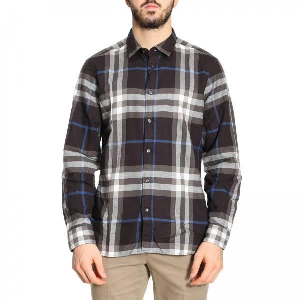 black burberry shirt men