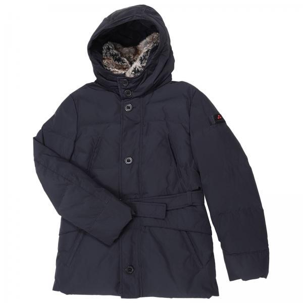 online store 93b7a a3170 Giubbotto mirò impermeabile con cappuccio e collo di pelliccia removibili