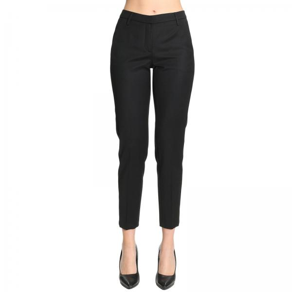 Fit Con Fasce Slim Dondup Donna NeroHives Pantalone xeBWrdoC